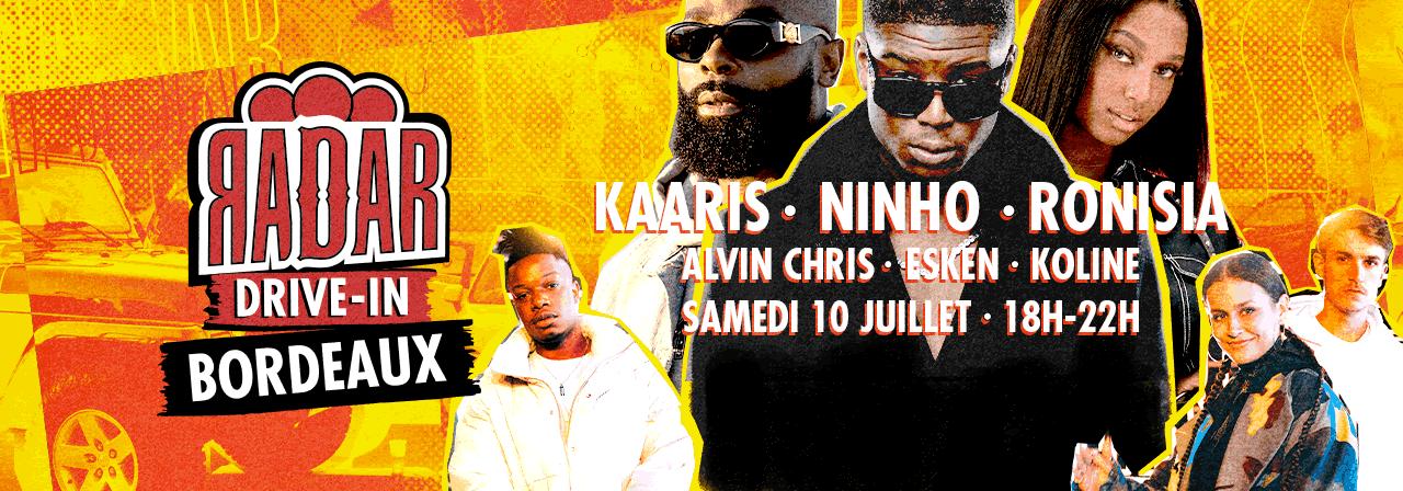 Concert Drive-In le samedi 10 juillet 2021 à Bordeaux