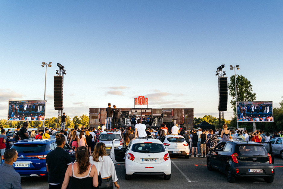 Concert Drive-In 100% gratuit