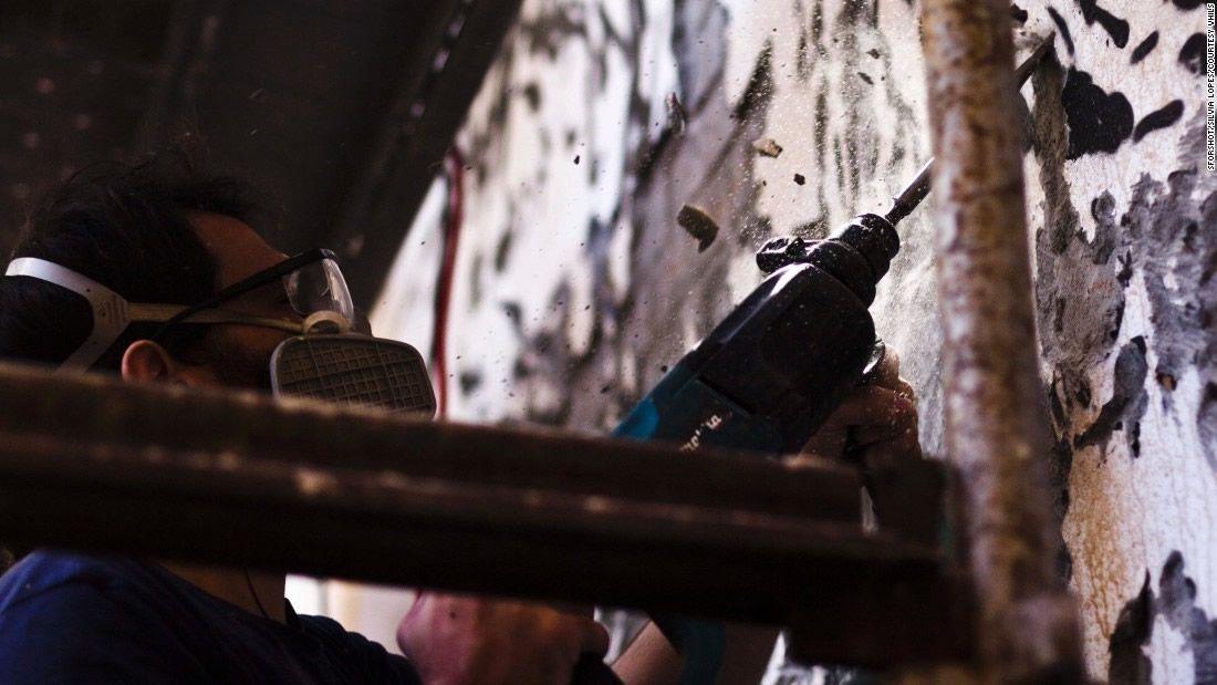 Vhils, Debris © HOCA foundation