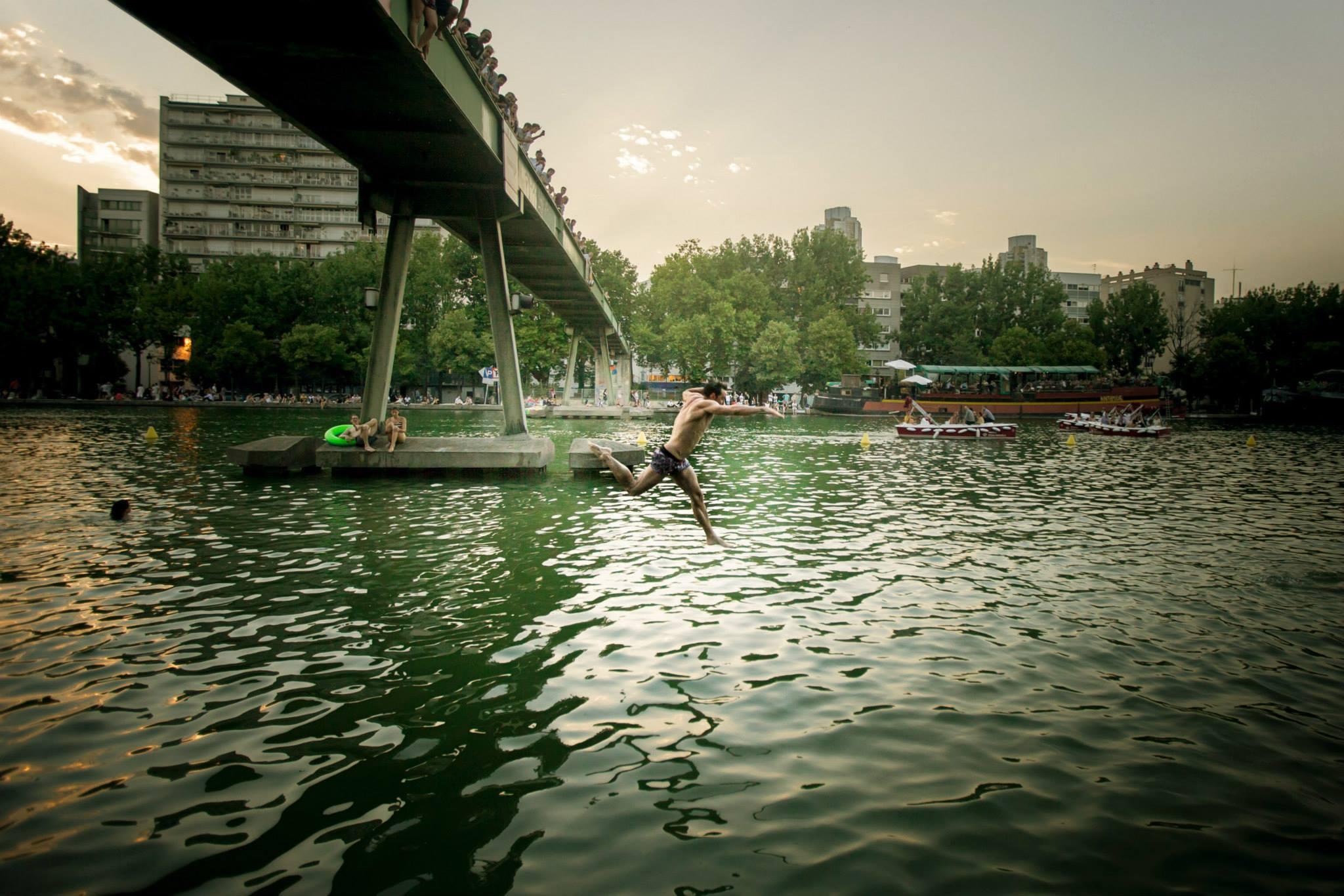 Alex Barnab Voyerjpg - Les Baignades urbaines, une activité Seine !