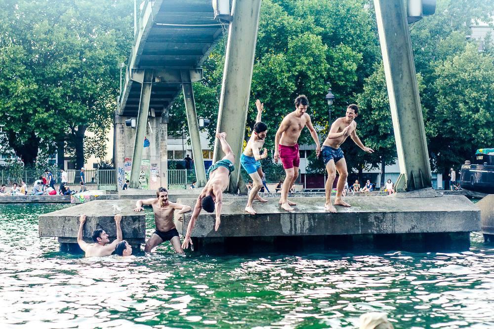 Nico Rtcjpg - Les Baignades urbaines, une activité Seine !