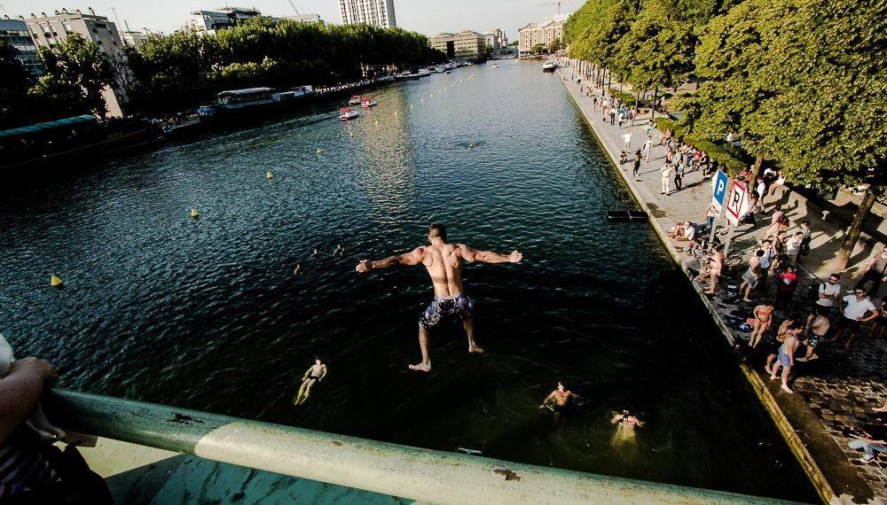 – Baignades urbaines – </br> Une activité Seine