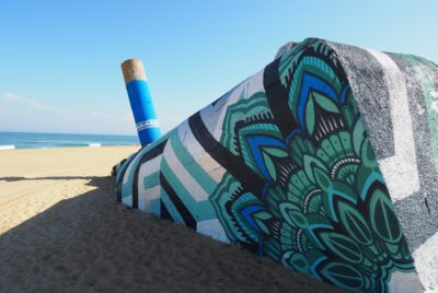 bunker-landes-jeykill-lxone-plage-arturbain-peinture-bleu-motif-graphique-mandala
