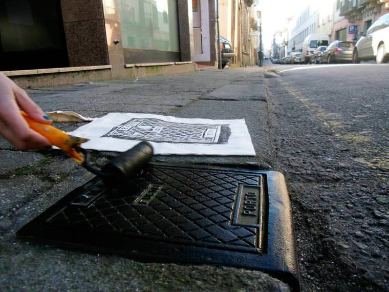 street serigraphy6jpg - Le collectif Raubdruckerin propose une collection de tee-shirts imprimés avec la rue