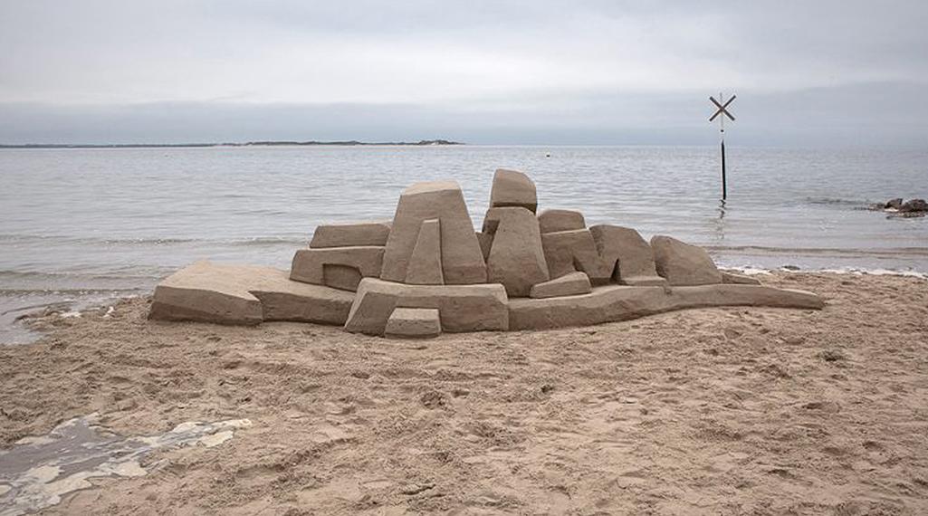 Daim, le marchand de sable du graffiti 3D
