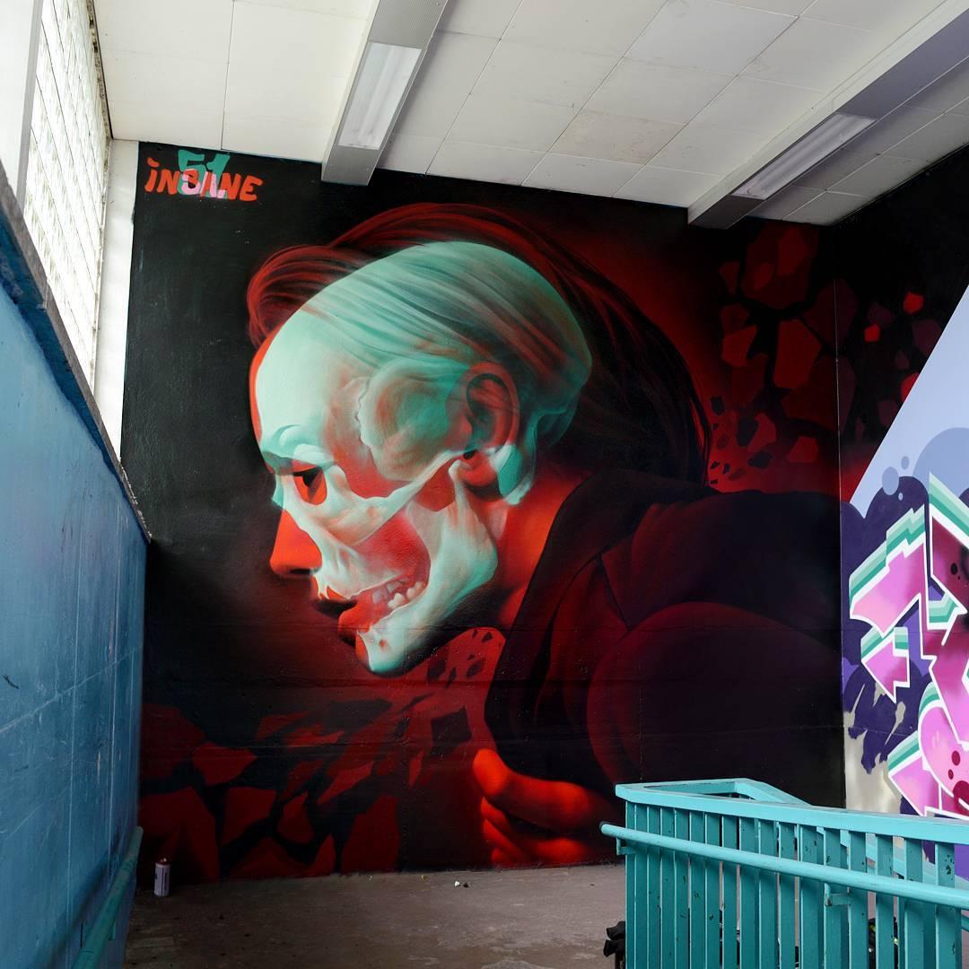 13643061690791397752085766954131njpg - Focus sur Insane 51 et ses incroyables graffitis en 3D