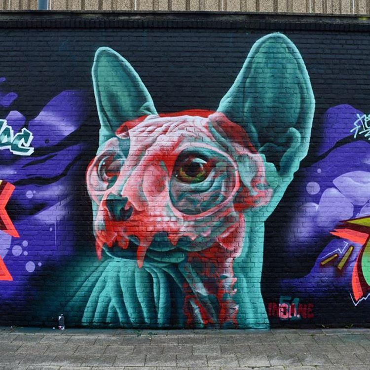 137674941041934962588959790675443njpg - Focus sur Insane 51 et ses incroyables graffitis en 3D
