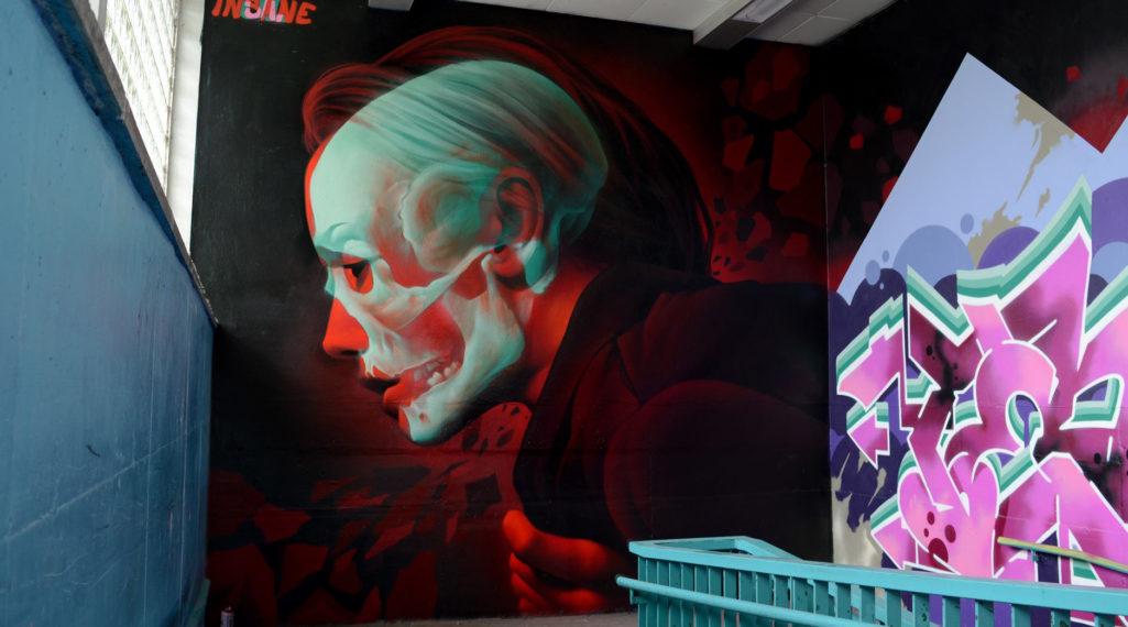 Focus sur Insane 51 et ses incroyables graffitis en 3D