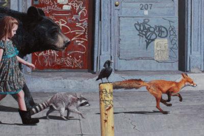 KevinPetersoncoverformatdesktop300dpi 400x268 - Kevin Peterson : la rencontre réaliste d'enfants sages et d'animaux sauvages sur fond d'apocalypse !