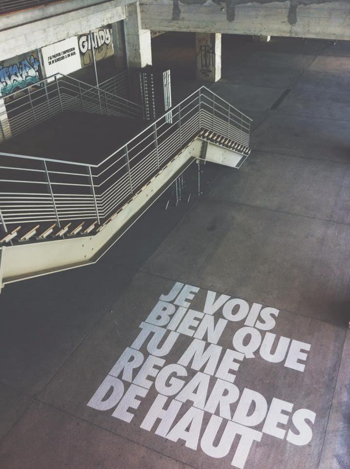 tumblrn41b76Z12t1qdok75o21280 - Les meilleures tags de Benisidore, le designer qui fait parler les murs avec ses punchlines !