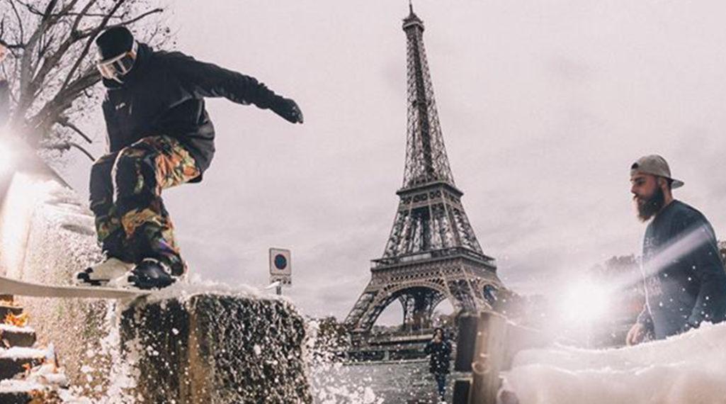 – Clever School – Session de Street Ski en plein ♥︎ de Paris
