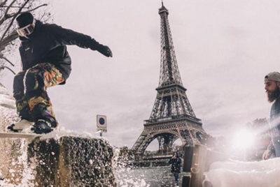 cleverschool-toureiffel-street-ski-ski-urbain-urban-skiing-tricks-jump-paris-ville-saut-lifestyle-sport-neige-hiver