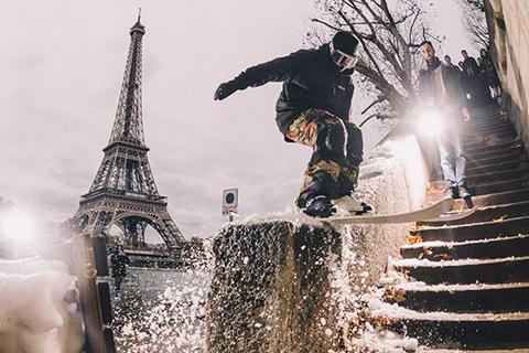 cleverschool-toureiffel-street-ski-ski-urbain-urban-skiing-tricks-jump-paris-ville-lifestyle-sport-neige-hiver