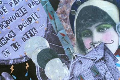 madameMcoverformatdesktop300dpi 400x268 - Madame Moustache habille les rues de collages rétros et de street haïkus