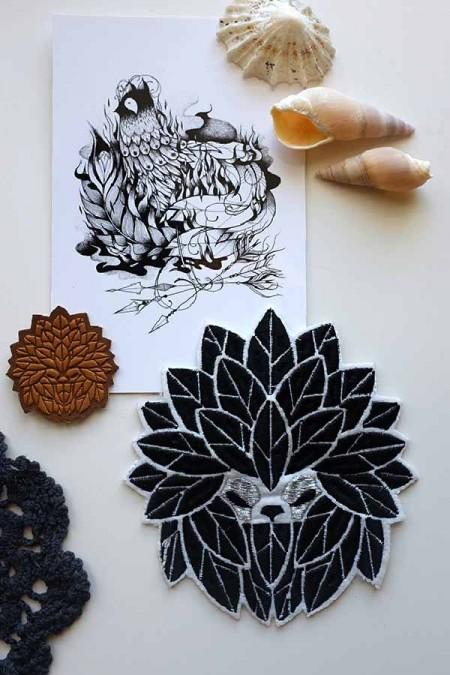 patch noir blanc - 10 idées cadeaux bien street à glisser sous le sapin !