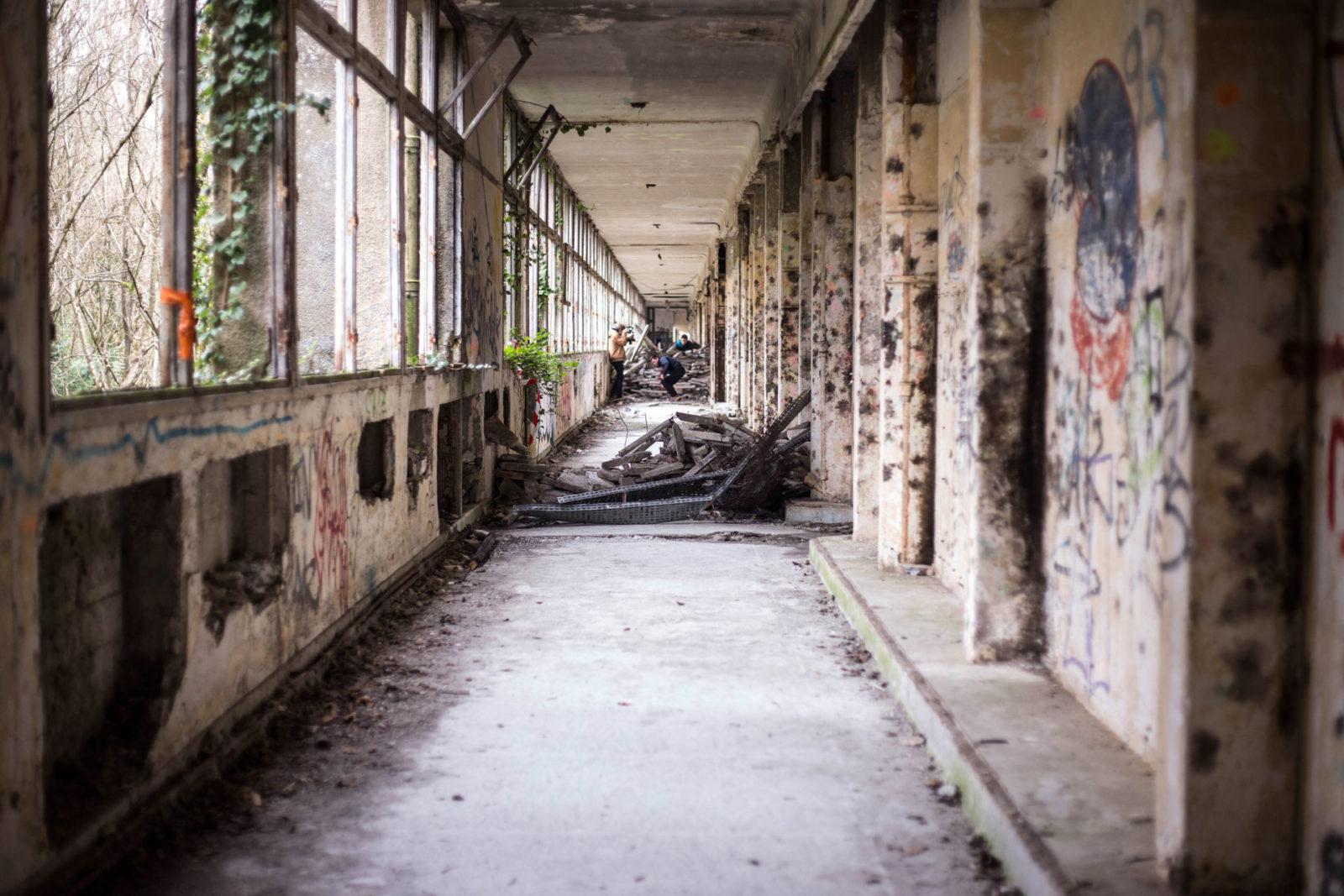 IMG5545 - Urbex x Parkour : visite acrobatique d'un sanatorium abandonné