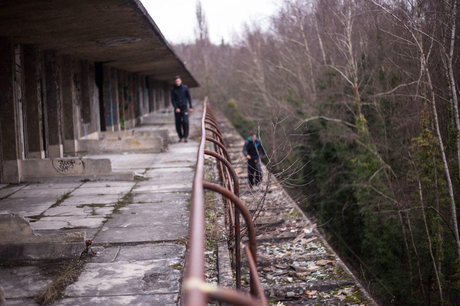 IMG5578 - Urbex x Parkour : visite acrobatique d'un sanatorium abandonné
