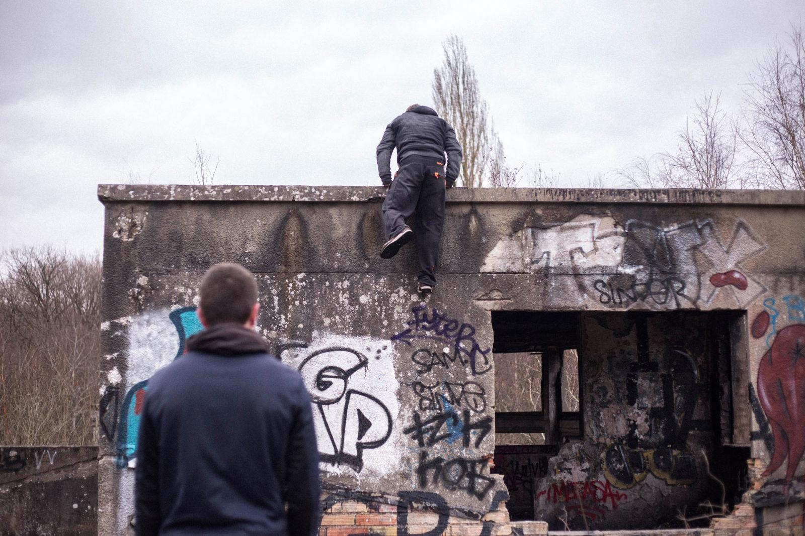 IMG5596 - Urbex x Parkour : visite acrobatique d'un sanatorium abandonné