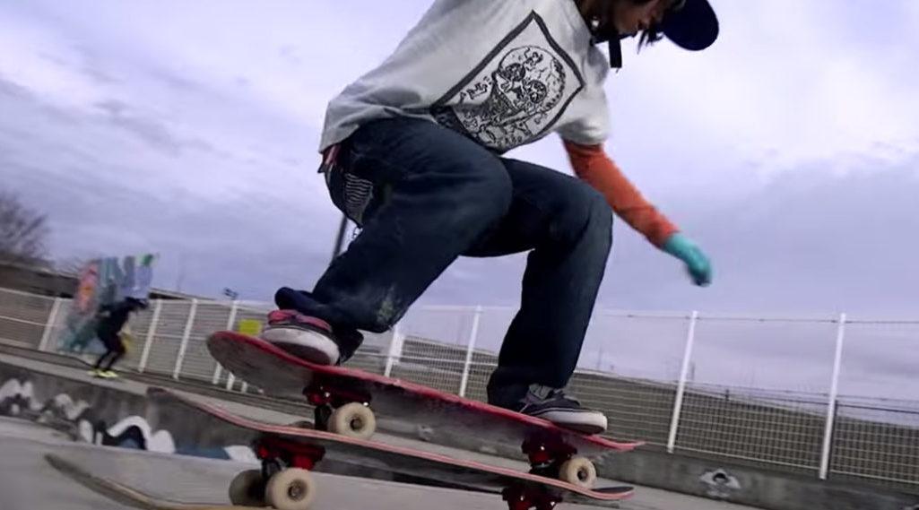 À 14 ans, Isamu Yamamoto s'affirme déjà comme LA nouvelle légende du skate freestyle…