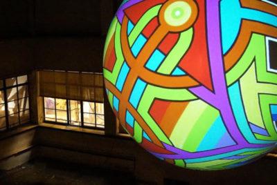 boule-globe-lab14-mapping-lumiere-streetart-nuit