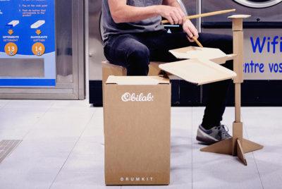 obilabcoverformatdesktop300dpi 400x268 - Un drumkit en carton