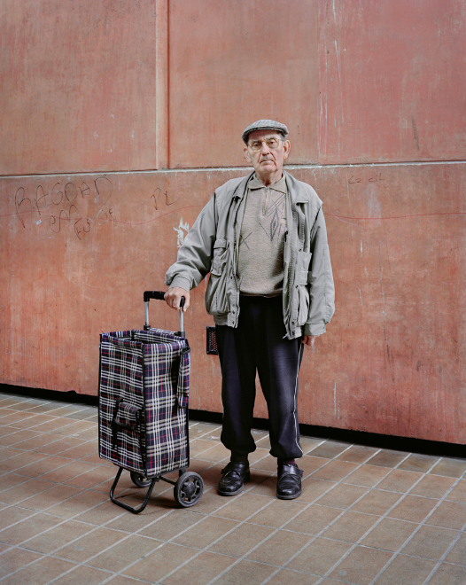 Kronental 19 photo cite teci reportage banlieue argentique vieux - Laurent Kronental sublime la banlieue et ses vieux...