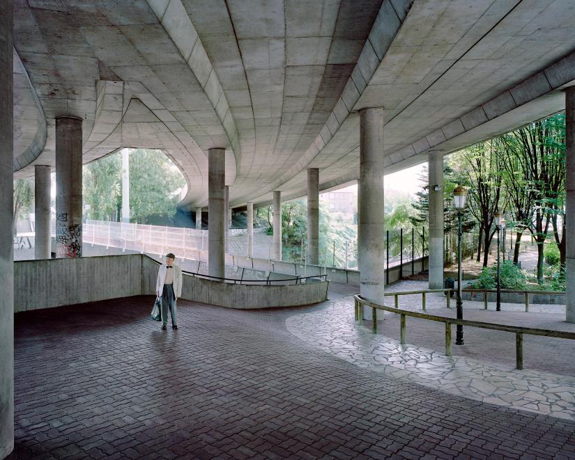 Kronental 7 photo cite teci reportage banlieue argentique vieux - Laurent Kronental sublime la banlieue et ses vieux...
