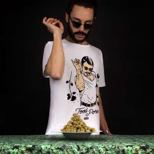 tealer weed streetwear saltbae tshirt thug lol food porn illustration - Sapes, soirées, label : Tealer s'offre un panorama 360° street culture