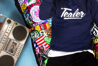 tealercoverformatdesktop300dpi 400x268 - Sapes, soirées, label : Tealer s'offre un panorama 360° street culture