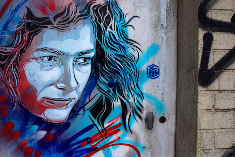 C215 pochoir portraits sportifs streetart nice museedusport Artaud - Athlètes : C215, le champion du pochoir,