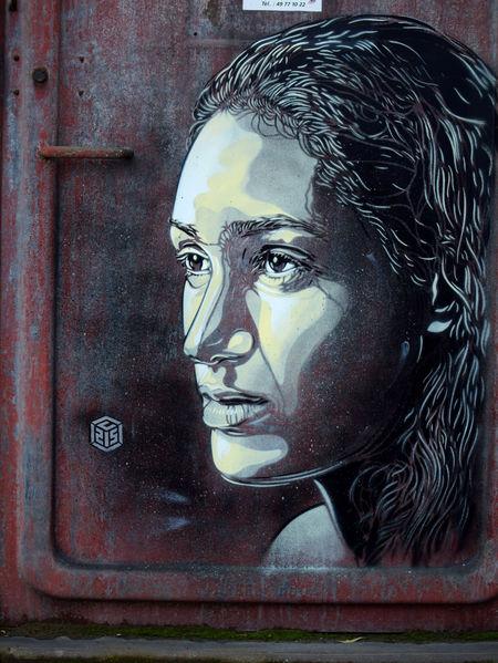 C215 pochoir portraits sportifs streetart nice museedusport camilleMuffat - Athlètes : C215, le champion du pochoir,