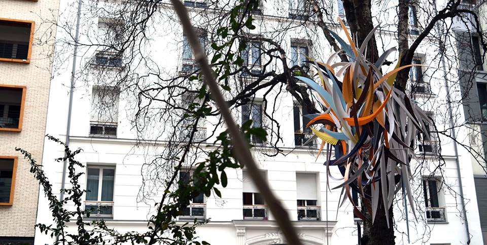 MatthieuDagorn lapinthur sculpture bois streetart leterrier 9econcept francscolleurs lourq blanc - - Interview -