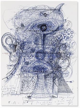 Tinguelyjean LeCyclop dessin crayonne - Le Cyclop,