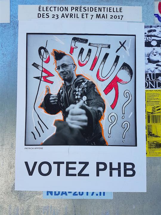 Capture decran 2017 04 20 a 18.25.12 - Quand le street art squatte les affiches de la campagne présidentielle...