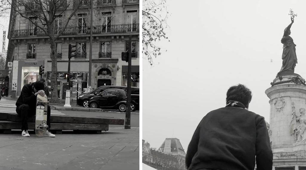No Age No Gender : La Place de la Rép, muse d'une superbe vidéo de skate
