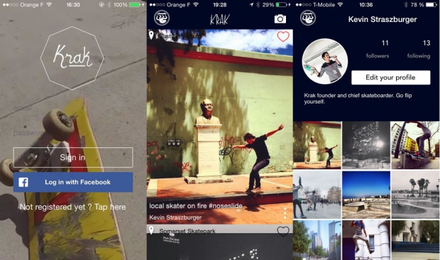 krak skate application - Top 5 des applications cools pour explorer la street culture