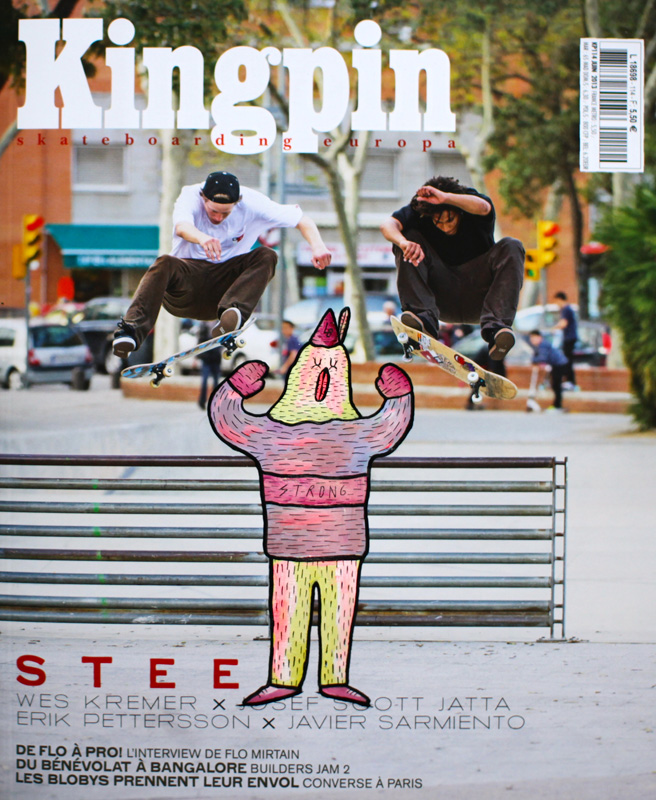 lucas_beaufort_illustrations_artiste_skate_art_magazine_kingpin