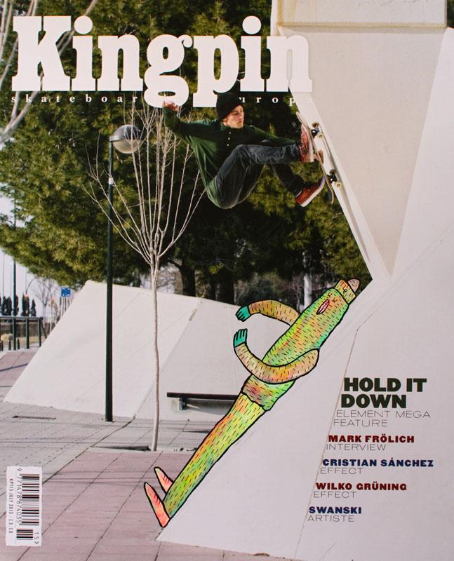 lucasbeaufortillustrationsartisteskateartmagazinekingpinskateboard - Lucas Beaufort, l'illustrateur qui sublime la culture skate