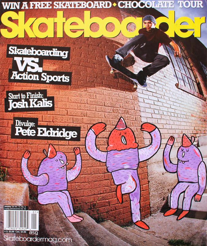 lucasbeaufortillustrationsartisteskateartmagazineskateboarder - Lucas Beaufort, l'illustrateur qui sublime la culture skate