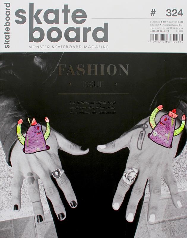 lucasbeaufortillustrationsartisteskateartmagazineskateboardmains - Lucas Beaufort, l'illustrateur qui sublime la culture skate