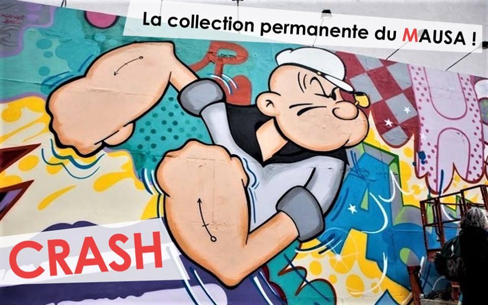 CRASHMAUSAmuseestreetarturbainartistesfrance - Le MAUSA, premier musée français dédié à l'art urbain