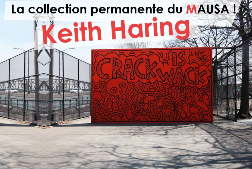 KEITHHARINGMAUSAmuseestreetarturbainartistesfrance - Le MAUSA, premier musée français dédié à l'art urbain
