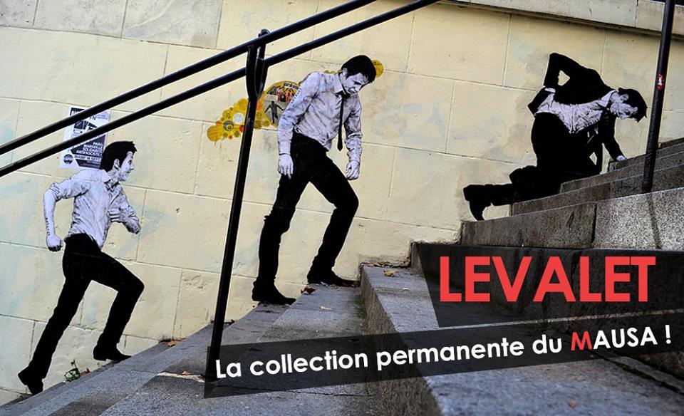LEVALETMAUSAmuseestreetarturbainartistesfrance - Le MAUSA, premier musée français dédié à l'art urbain