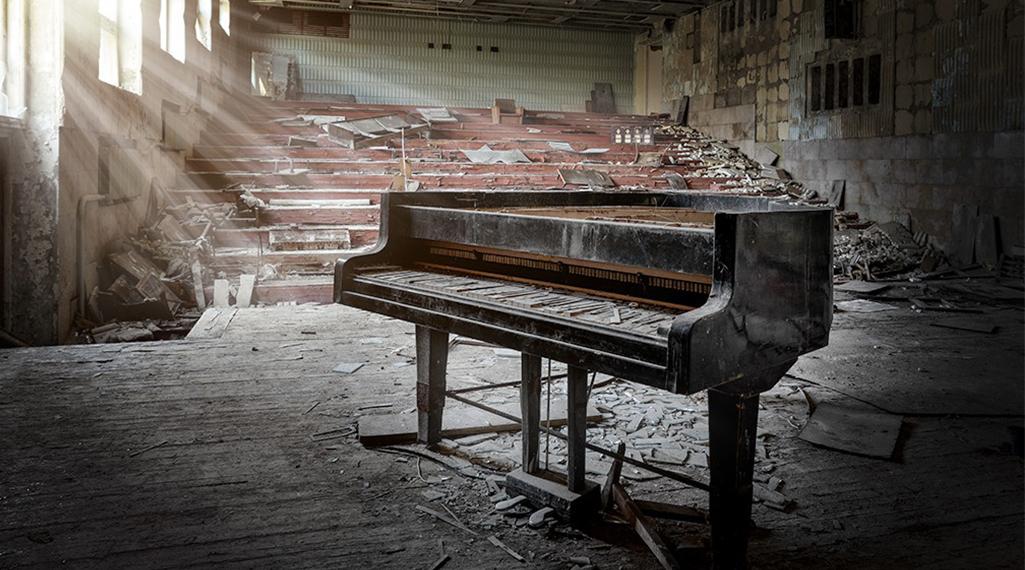 Salles de concert abandonnées : ces spots urbex où plane le silence