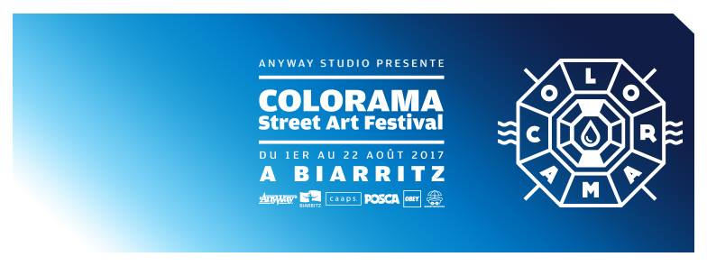 colorama street art festival biarritz aout - Save the date : la crème des events x Août .17