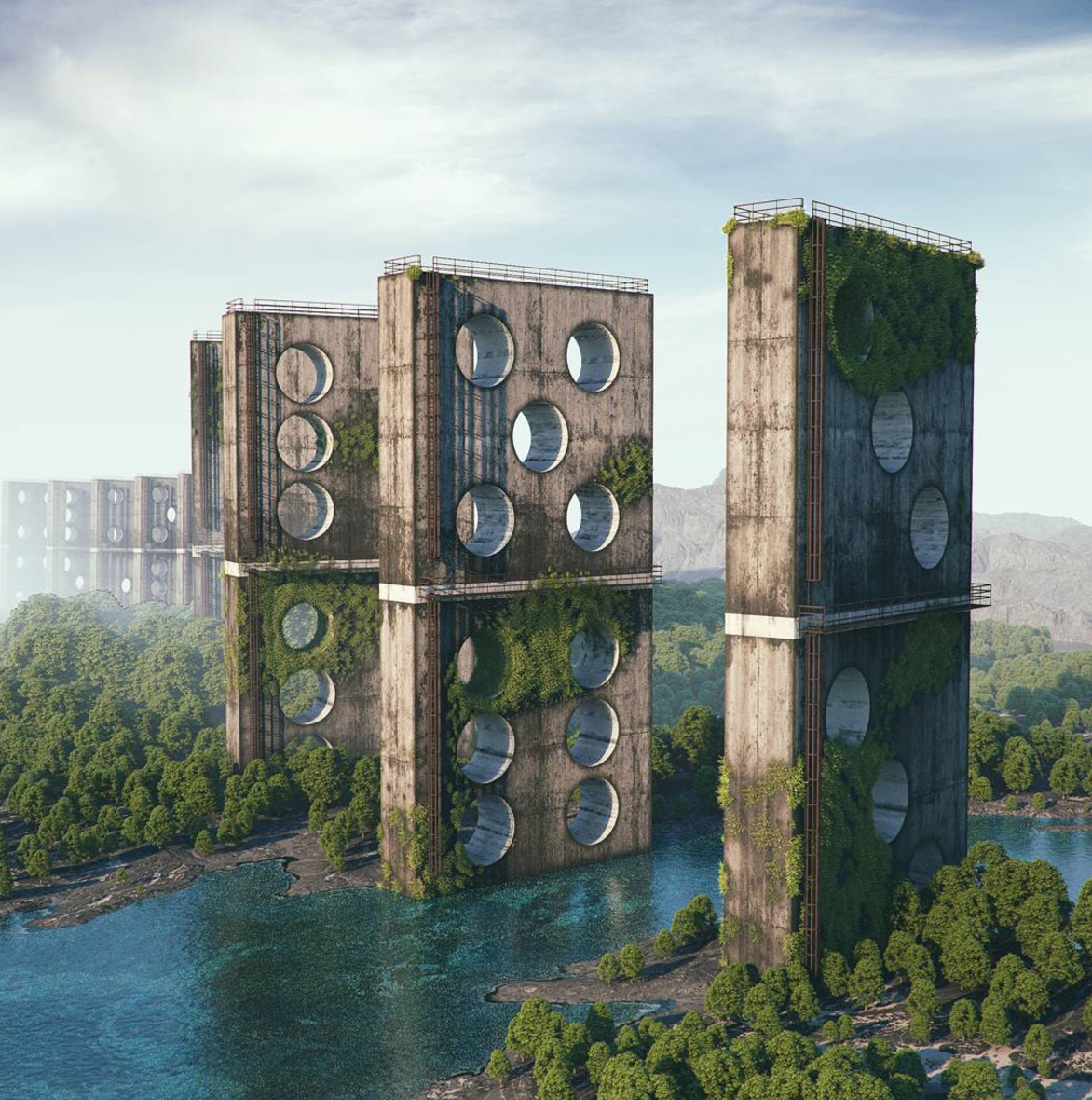 filip hodas hoodass art science fiction urbex 3D virtuel pop culture11 - Filip Hodas brouille les frontières entre urbex, sci-fi et pop culture