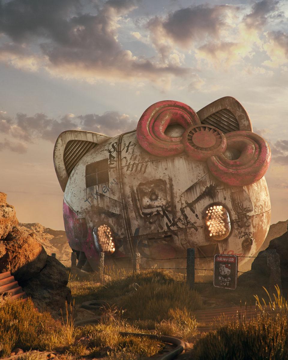 filip hodas hoodass art science fiction urbex 3D virtuel pop culture7 - Filip Hodas brouille les frontières entre urbex, sci-fi et pop culture