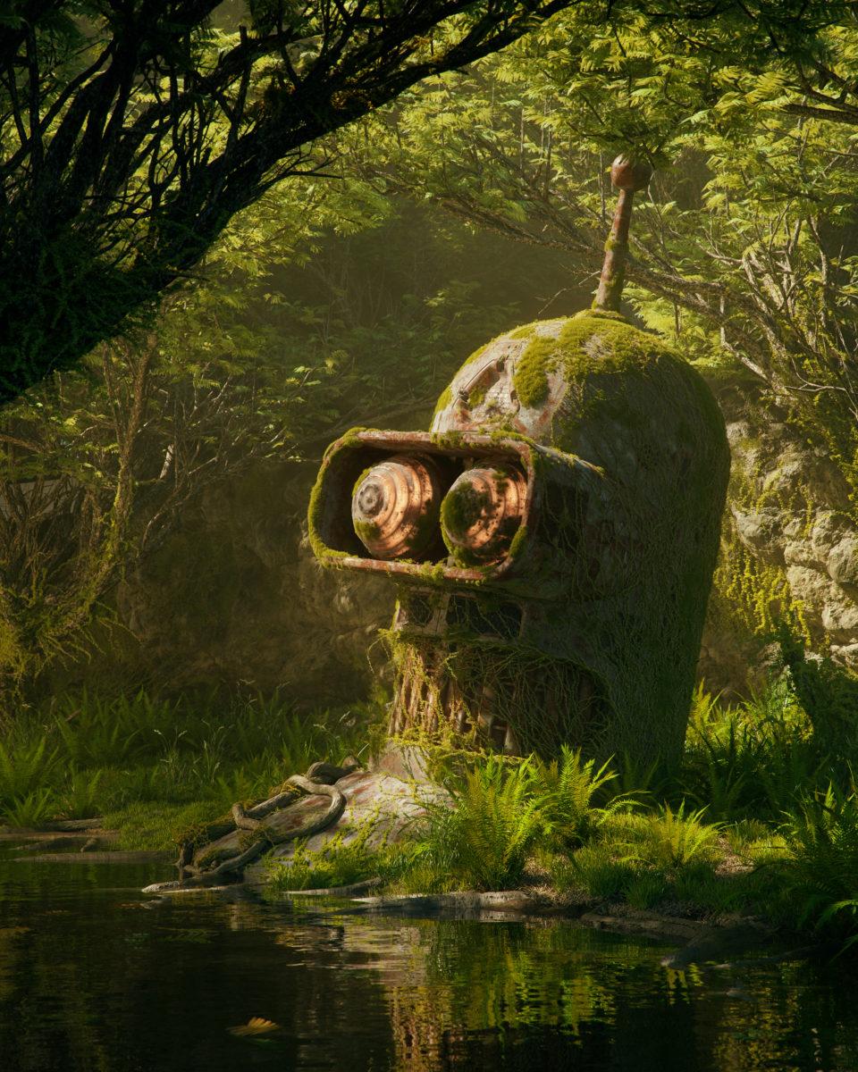 filip hodas hoodass art science fiction urbex 3D virtuel pop culture8 - Filip Hodas brouille les frontières entre urbex, sci-fi et pop culture