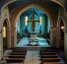 James Kerwin immortalise la quiétude des églises abandonnées