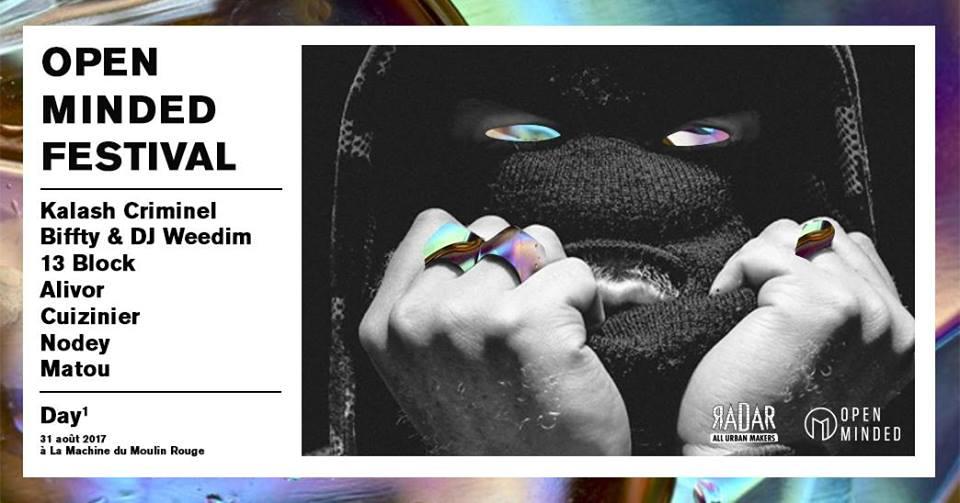 open minded festival rap event musique day1 - Open Minded Festival, le RDV des chineurs de sons